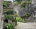Steps in the stable yard at Benvarden - geograph.org.uk - 859775.jpg