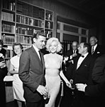 Steve Smith with Marilyn Monroe at Private Reception in New York City JFKWHP-ST-A47-8-62.jpg