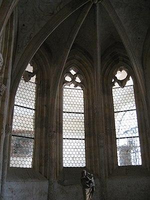 Rein Abbey, Austria - Gothic Chapel of the Cross window