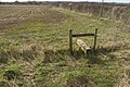 Stile on footpath to Fence Foot - geograph.org.uk - 1774965.jpg