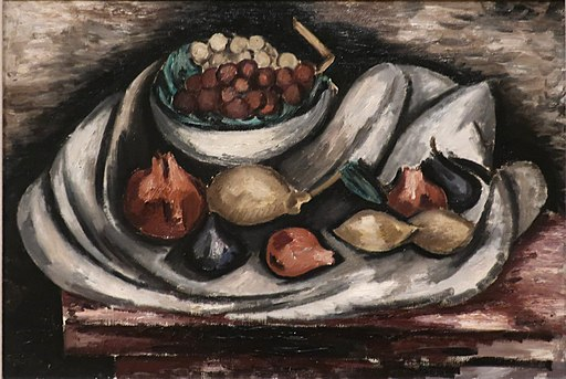 Still Life with Compote and Fruit by Marsden Hartley, 1928