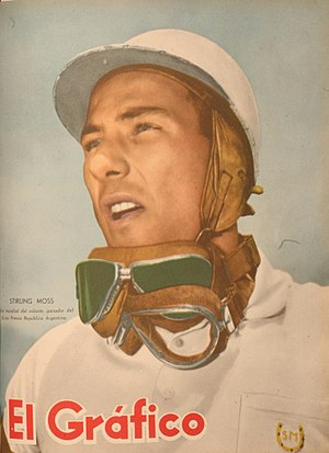 1958 Formula One season - Stirling Moss placed second