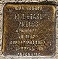 Stolperstein Eulerstr 21 (Gesbr) Hildegard Preuss.jpg