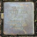 Stolperstein Felix Juda, Ottostraße 44, Köln-8984.jpg
