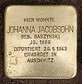 Stolperstein Frankfurter Tor 4 (Frhai) Johanna Jacobsohn.jpg