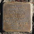 Stolperstein Karlsruhe Hannelore Nachmann Reinhold-Frank-Str 24 (fcm).jpg