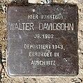 Stolperstein Krummhübler Str 1 (Rumbg) Walter Davidsohn.jpg