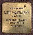Stolperstein Marienbader Str 12 (Schma) Kurt Mandowsky.jpg