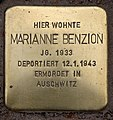 Stolperstein Pariser Str 11 (Wilmd) Marianne Benzion.jpg