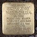 Stolperstein Wielandstr 15 (Charl) Estera Jenny Yasgur-Driller.jpg