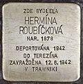 Stolperstein für Hermina Roubickova.jpg