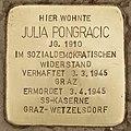Stolperstein für Julia Pongracic (Graz).jpg