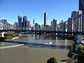 Story Bridge, Brisbane CBD Skyline July 2014. 03.JPG