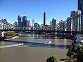 Story Bridge, Brisbane CBD Skyline July 2014. 03.JPG