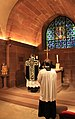 Strasbourg crypte de la cathédrale Notre Dame messe de Requiem 2013 06.jpg