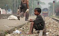 Street Child, Srimangal Railway Station.jpg