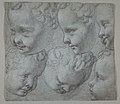 Studies of the Head of an Infant (after a three-dimensional model) MET DP811180.jpg
