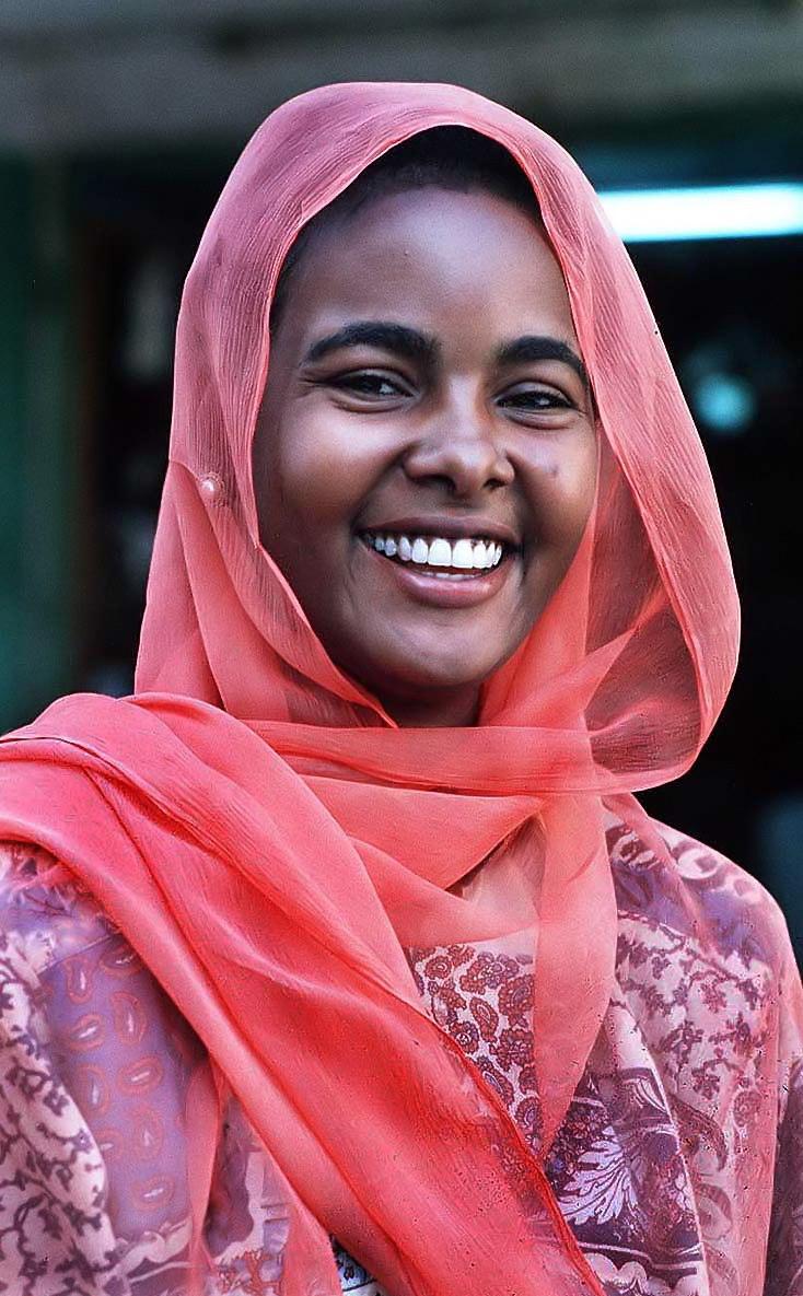 Sudan - smiling lady