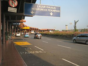 Sukarno hatta airport - Terminal - Jakarta - Indonesia