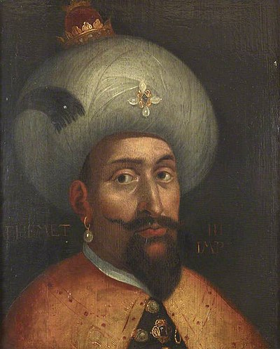 Sultan Mehmed III from Ottoman Dynasty Sultan Mehmet III of the Ottoman Empire.jpg