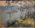 Summer Day, Gloucester, Massachusetts, by Willard Metcalf, 1895, oil on canvas - Huntington Museum of Art - DSC05208.JPG