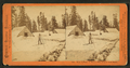 Summit House in winter, traveling on snow shoes, by Thomas Houseworth & Co..png