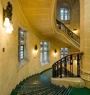 Supreme Court UK Stairwell