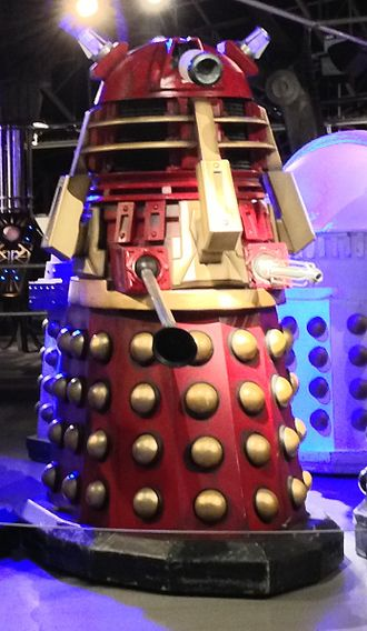 The Stolen Earth - The Supreme Dalek, on display at the Doctor Who Experience.