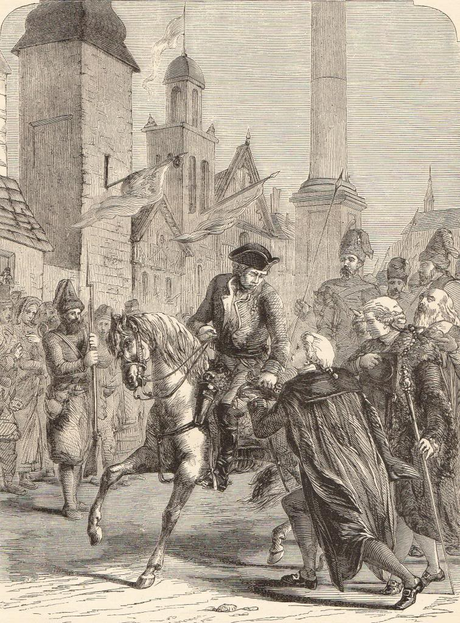 Suvorov entering Warsaw, 1794. Suvorov entering Warsaw 1794.PNG