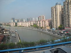 Suzhou River in Putuo.JPG