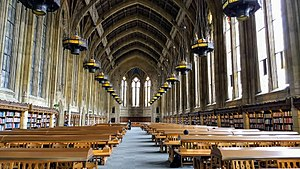 Campus of the University of Washington - Suzzallo Library Reading Room