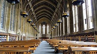 Campus of the University of Washington - Suzzallo Library Reading Room