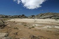 הנוף של עמק נהר הסווקופ ליד ריצ'טופן