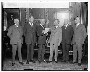 George C. Butte - Swearing in of G.C. Butte as Atty. Gen. of Puerto Rico, 1925