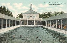 Swimming Pool In C 1912