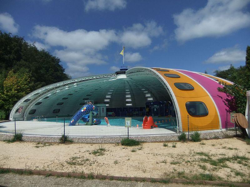 Swimming pool, Camping Birkelt