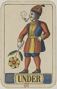 Swiss card deck - 1850 - Under of Flowers.jpg