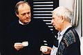 Szárszói találkozó 1994 Medgyessy Péter Bacsó Péter.jpg