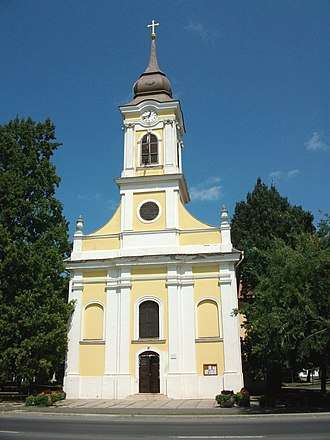 Szarvas - Roman Catholic church (1808-1812)