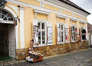 Szentendre - Decorated Shop Windows