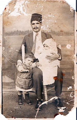 Turkish Cypriot diaspora - A Turkish Cypriot family who migrated to Turkey in 1935.