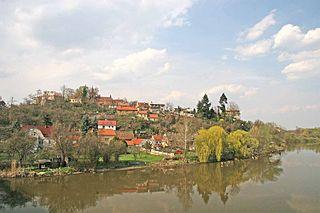 Týnec nad Labem Town in Czech Republic