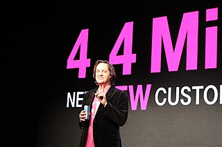 John Legere American businessman