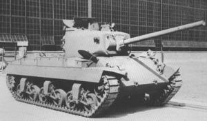 T20 Medium Tank - The T20 with horizontal volute spring suspension