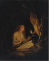 THE PENITENT MAGDALENE BY CANDLELIGHT.PNG