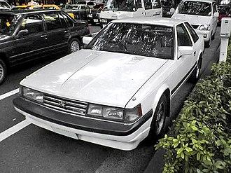 Toyota Soarer - Image: TOYOTA SOARER GZ10