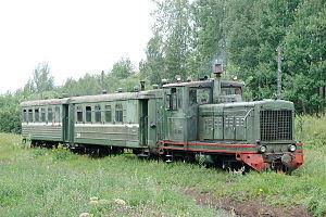 Kirov Oblast - Pishchalskoye peat railway