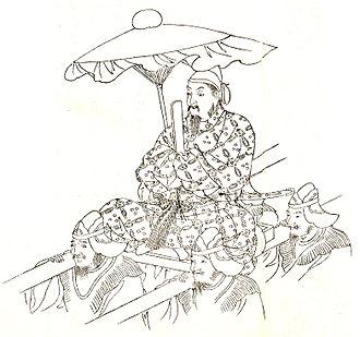 Tachibana no Moroe - Tachibana no Moroe drawn by Kikuchi Yōsai