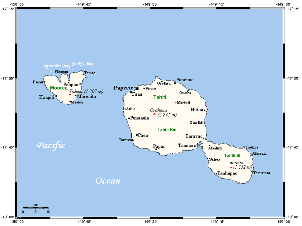 TahitiMooreaMap