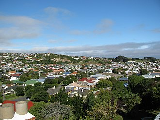 Andersons Bay - A view over Tainui, looking south east